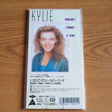 Kylie Minogue CD3 Wouldn't Change A Thing Single 3 inch CD 1989 RARE