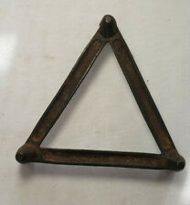 Triangular Metal Stand Possibly for Pocket Stove (6-4)