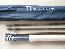 CUSTOM 4 pc.- 9 ft.THOR HIGH MODULUS CARBON GRAPHITE 5/6.Wt. FLY ROD  w/ BAG #52
