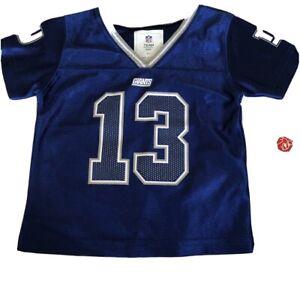 NFL Girls Blue New York Giants Odell Beckham Jr #13 Football Jersey sz 18 months