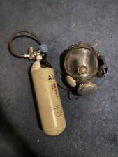 More details for seibe gorman bm13-e18 full face visor firemans gas mask with tank