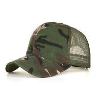 Camouflage Summer Cap Mesh Hats Men Women Casual Hats Hip Hop Baseball Caps Hat