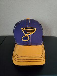 Boys Girls Kids New Era 39Thirty St. Louis Blues Hat Cap One Size Child Youth