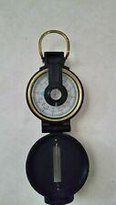 Vintage Engineer Lensatic Pocket Compass