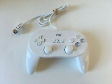 White Nintendo Wii Classic Controller Pro Great Condition