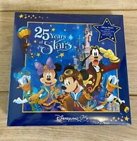 Disneyland Paris Photo Album 25 Years of Stars (200 photos) - New & Sealed