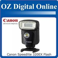 NEW Canon Speedlite 320EX Flash 320 EX for EOS 1 Year Au Warranty