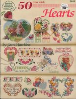 Counted Cross Stitch Patterns Hearts 50 Projects