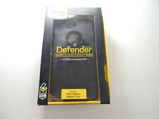 Otterbox Defender Case For iPhone 7 PLUS - Black **NO BELT CLIP** Pre-Owned