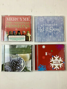 Christmas CD's Various Artists Lot Of 4