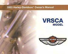 2003 HARLEY-DAVIDSON VRSCA V-ROD OWNERS MANUAL -VRSCA-VROD-100TH ANNIVERSARY