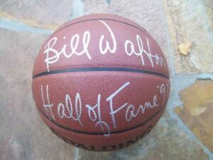 *BILL WALTON*SIGNED*AUTOGRAPHED*BASKETBALL*SPALDING*TRAILBLAZERS*HALL OF FAME!