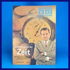 DDR-Zeitschrift NBI 7/1971 Eiskunstlauf Gabi Seyfert Magdeburg Handball Sputnik