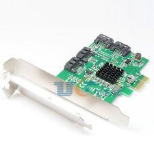 PCI-E PCI Express 1x to 4-Port SATA 3.0 III 6G Converter Controller Card Adapter