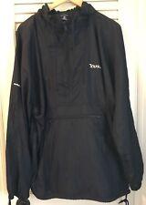 Men's Port Authority Nylon Windbreaker Anorak Jacket With YAHOO! Logo Size XL