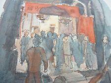 Hong Kong original artwork SLADE ARTIST Harold D Collison-Morley SHAN KAI WAN