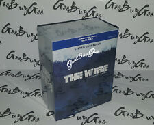 THE WIRE Complete Series 1-5 BLU-RAY ☆ SEASON 1,2,3,4,5 ☆ Factory Sealed BOX SET
