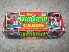 Topps FOOTBALL CARDS 1990 Complete Set of 528 Cards Joe Montana