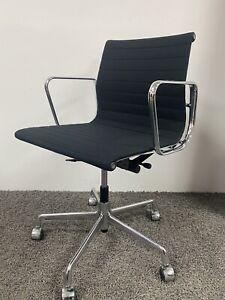 1 x Vitra EA117 Eames Alu-Chair Bürostuhl Drehstuhl Hopsak schwarz inkl.19% Mwst
