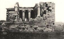 EGYPT. Temple of Maharakkah, Nubie (Nubia) c.1850 1935 old vintage print