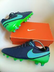 Nike tiempo Pro football boots size 10.5 premier acc real leather