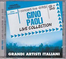CD + Dvd «GINO PAOLI • LIVE COLLECTION • 25 NOVEMBRE 1980» nuovo