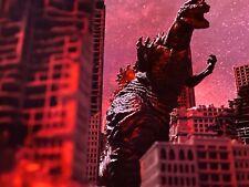 NECA GODZILLA WB TOHO 1 Buildings Battle Damaged Deluxe