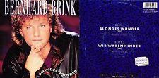 DISCO 45 GIRI    BERNHARD BRINK - BLONDES WUNDER // WIR WAREN KINDER