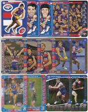 a1 - Bulk lot of assorted Teamcoach INSERT Cards - Western Bulldogs