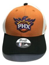 NBA Phoenix Suns Youth Boys Structured Adjustable Cap, Orange, 1 Size