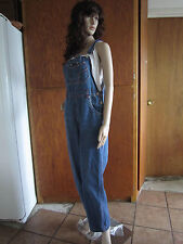 Vintage Perfect !! Cute NO EXCUSES Overalls - size Women's Medium