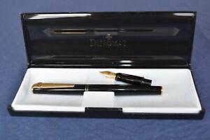 Diplomat Designer Fountain Pen w/ 14ct Nib in Original Box w/ Spare Nib & Ink