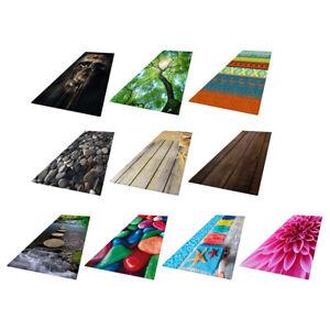 Skid-resistance Floor Mat BedroomArea Rug Carpet Absorbent Doormat 60x180cm