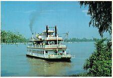 USA M.V. Samuel Clemens Baton Rouge Louisiana Chrome Postcard BS.06