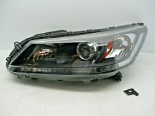 OEM 2013 2014 2015 Honda Accord Left Headlight HALOGEN NON LED Sedan Driver LH