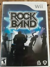 Rock Band Wii Game No Instructions