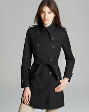 BURBERRY Trench Coat BLACK Medium  Retail $1595