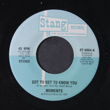 MOMENTS: Got To Get To Know You / I Feel So Good Again 45 (70s Crossover Soul w