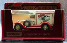 Matchbox Models of Yesteryear, Y-22: 1930 Model 'A' Ford Van; Palm Toffee