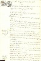 1844 PISA Rosa FABBRINI cita in tribunale Luisa GRICCHI