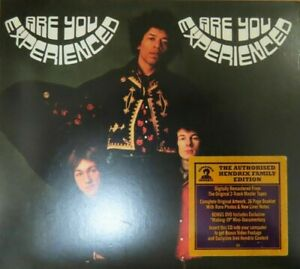 THE JIMI HENDRIX EXPERIENCE - ARE YOU EXPERIENCED - DELUXE CD + DVD
