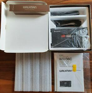 Sony WM-D6C Walkman Professionell Stereo Kassettenrecorder unbenutzt