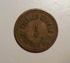 Peebles Corner Cincinnati, Ohio park and shop token brass