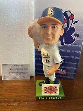 David Dejesus Wilmington Blue Rocks Bobblehead  Rare SGA 2006 W Stub Royals Cubs