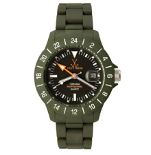 Toy Watch JET01HG Jet Lag Hunter Green Plasteramic Unisex Watch 0231
