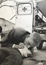 Vintage Press Photo 1963 Red Cross Kiss of Life- Gay Love Men Homosexual Berlin