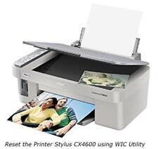 Resetting the Epson Stylus CX4600 Printer with WIC Utility