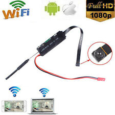 Mini WIFI 1080P HD DVR Hidden IP Camera DIY Modul Motion Detection Kamera Cam