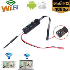 Mini WIFI 1080P HD DVR  IP Camera DIY Modul Motion Detection Kamera Cam neu