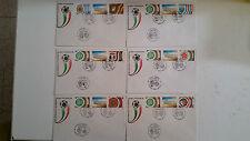 BUSTE FDC ITALIA'90 milano stadio meazza